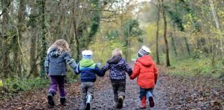 kids in jungle