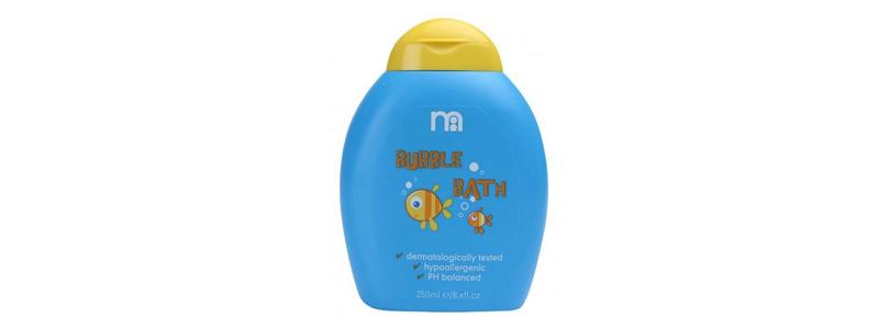 toddler bubble bath