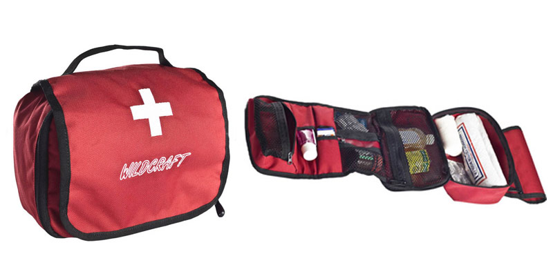 cross red travel pouch