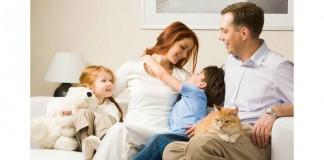 Parents caring